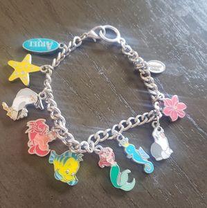 Disneyland Little Mermaid Charm Bracelet